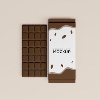 Mockup al cioccolato