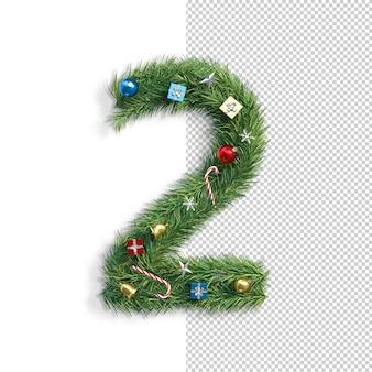 Carattere natalizio, numero 2