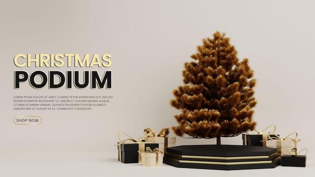 Speciale natale premium podio con confezione regalo