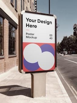 Città poster mockup
