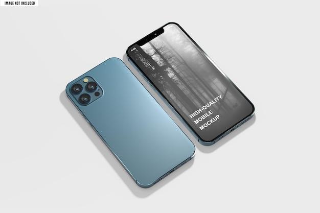 Modello di smartphone pulito