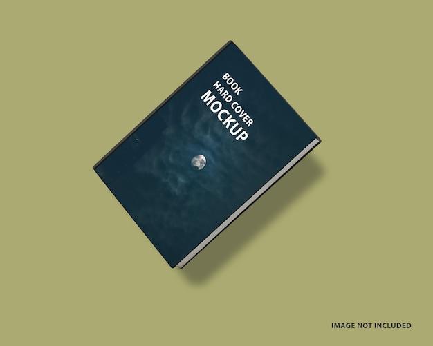 Primo piano sul design del mockup della copertina del libro