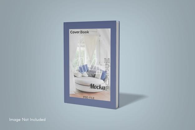 Primo piano sulla copertina del libro mockup