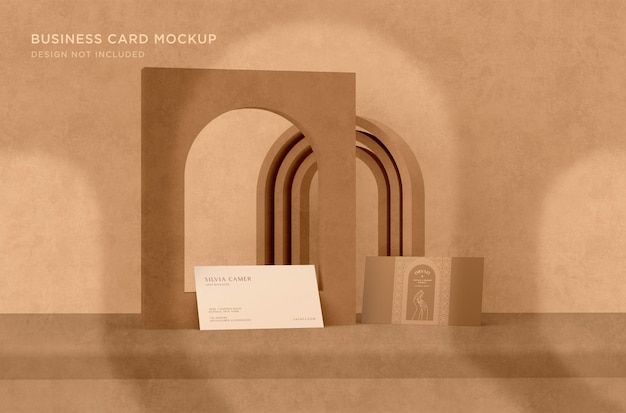 Primo piano su elegant branding mockup design