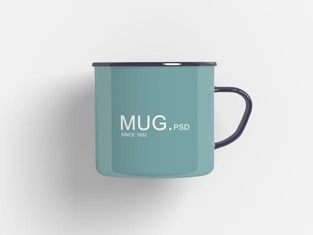 Primo piano su mug mockup isolati