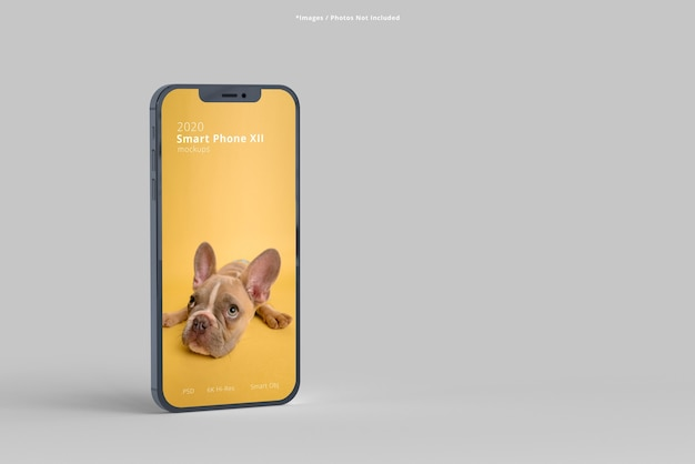 Chiuda in su modelli di smartphone isolati