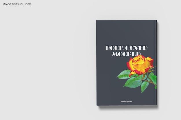 Primo piano su design mockup libro copertina morbida