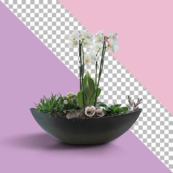 Vista ravvicinata della nave dei fiori