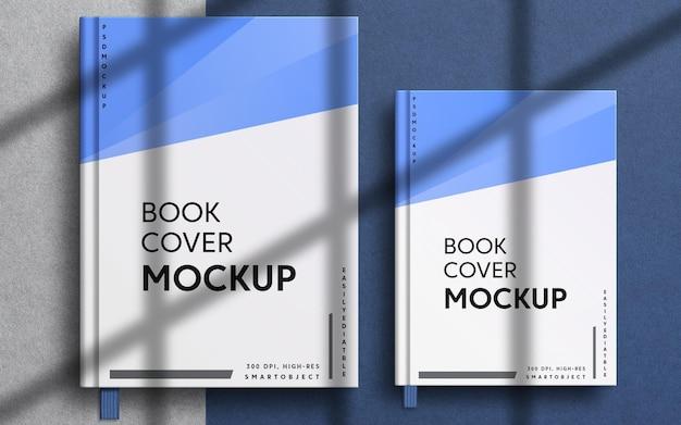 Chiudere la vista sul design del mockup della copertina del notebook