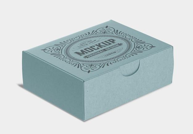 Modello di carta scatola chiusa