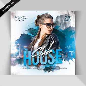 Volantino festa club house