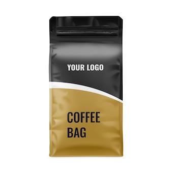 Coffee bag mockup mockup esclusivi per il branding e il design del packaging
