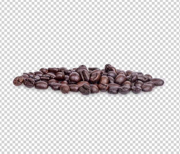 Chicchi di caffè isolati psd premium