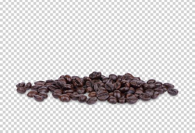 Chicchi di caffè isolati