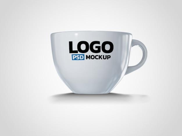 Progettazione del modello del rendering della tazza di caffè 3d