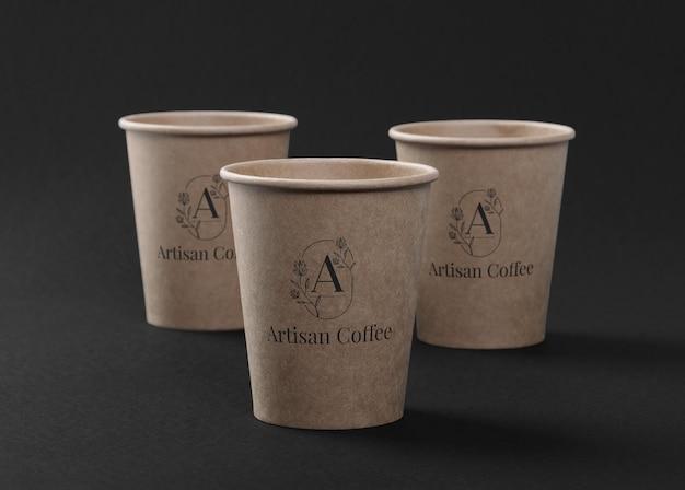 Design mockup tazza di caffè