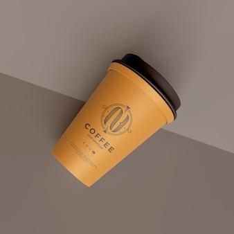 Mockup di tazza di caffè