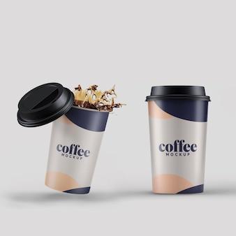 Modello di tazza di caffè
