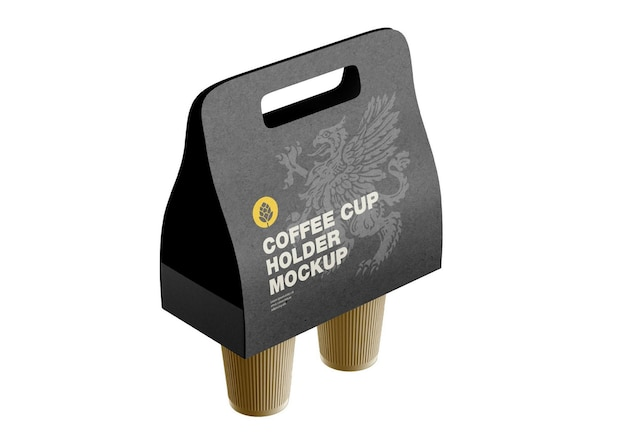 Mockup porta tazzine da caffè