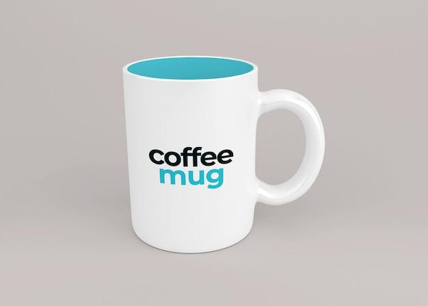Disegno del modello della tazza da caffè isolato