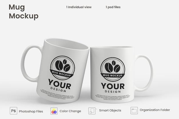 Mockup di tazza da caffè