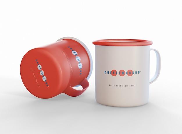 Mockup di tazze da caffè