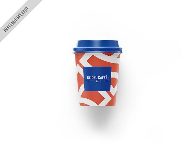 Mockup di tazza di caffè da asporto