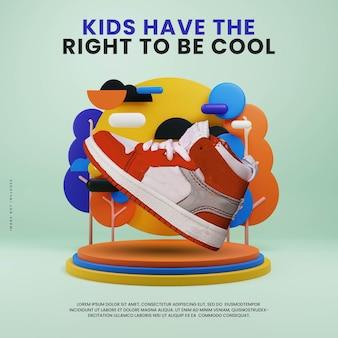 Espositore per podio colorato per bambini