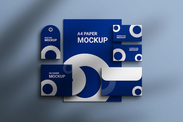 Mockup del marchio aziendale
