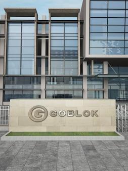Logo aziendale modello 3d