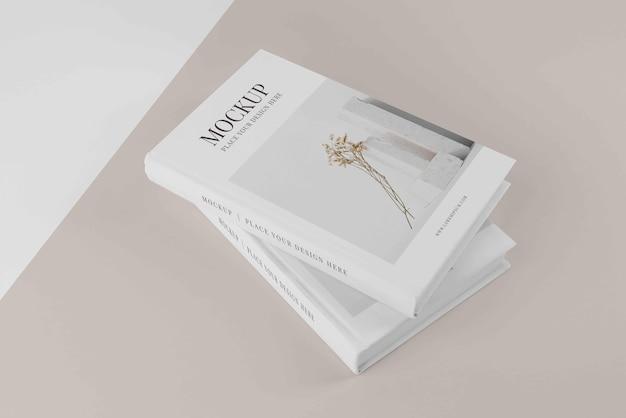 Composizione della copertina del libro mock-up