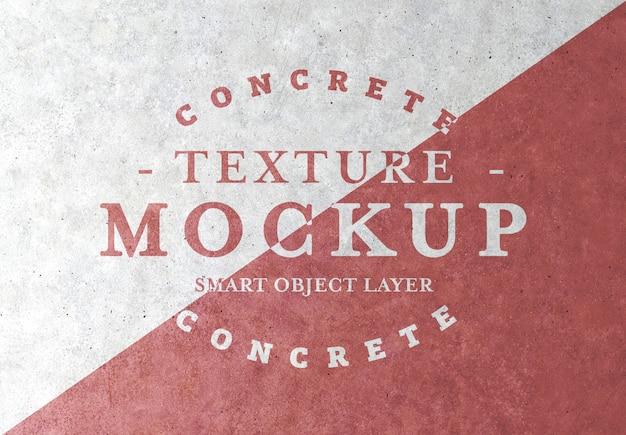 Mockup di grunge texture concrete