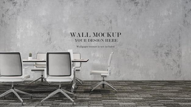 Mockup della parete della sala conferenze