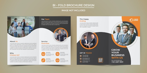 Modello brochure - business bi fold