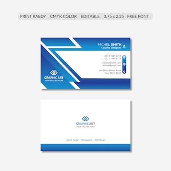 Biglietto da visita aziendale Psd Premium