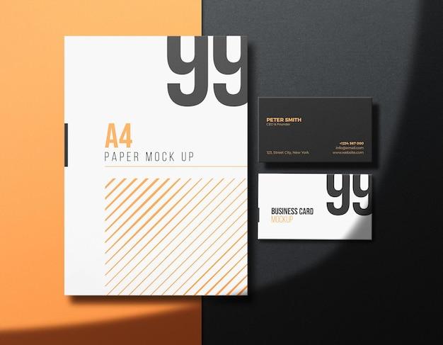 Set di modelli aziendali aziendali