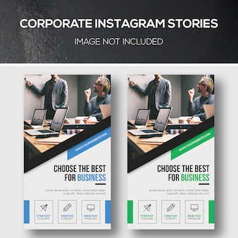 Storie aziendali su instagram