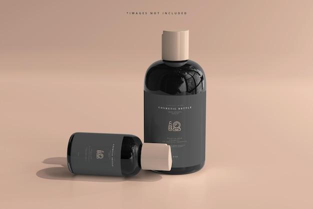 Bottiglie cosmetiche mockup