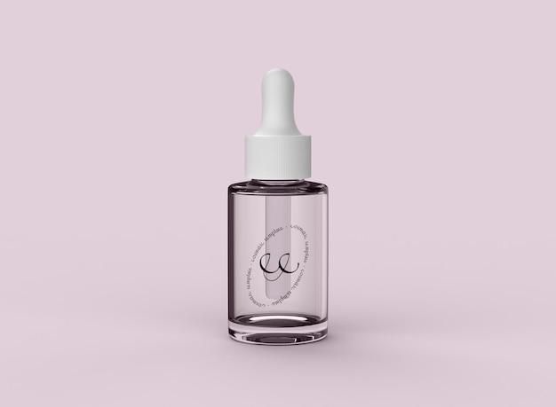 Mockup contagocce cosmetico