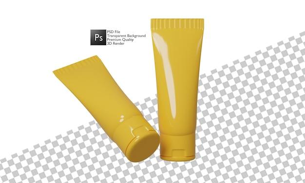 Illustrazione cosmetica 3d design