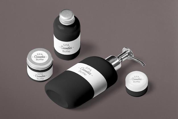 Mockup di prodotti cosmetici