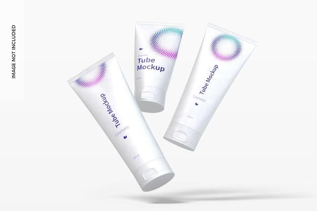 Mockup di tubi cosmetici