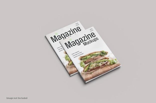 Cover magazine mockup rendering designs rendering design