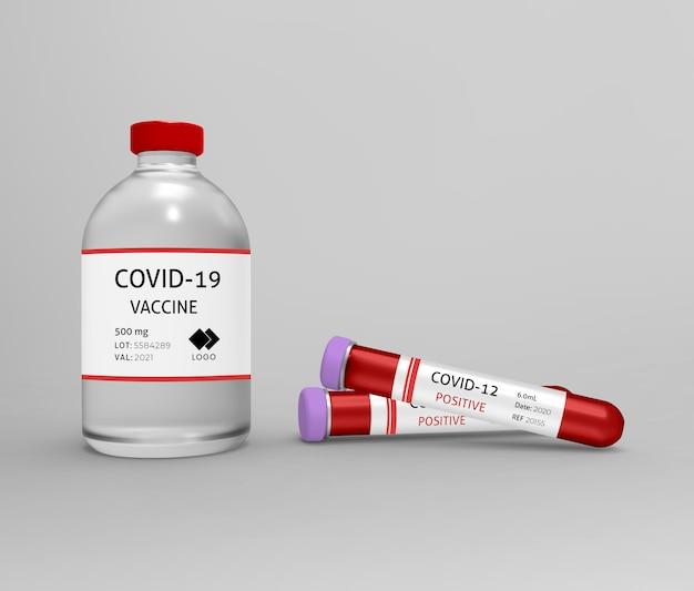 Modello di test del vaccino covoso