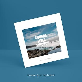 Mockup di brochure quadrata creativa psd