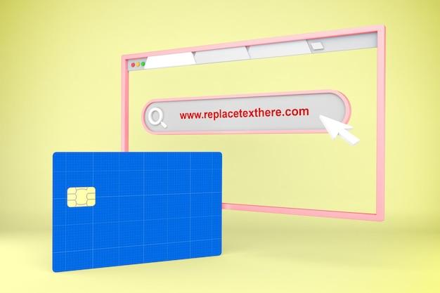 Sito web della carta di credito