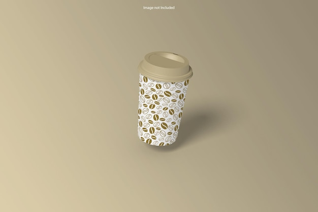 Cup mockup design rendering