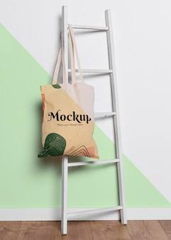 Mock-up concrpt di borsa carina