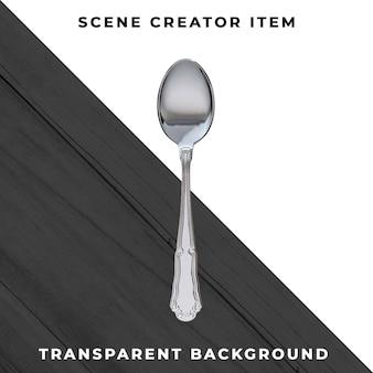 Posate trasparenti psd
