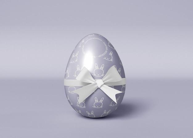 Mockup di uova di pasqua decorate